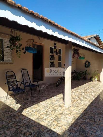 Casa Com 3 Dormitórios Para Alugar, 135 M² Por R$ 1.300,00/mês - Conjunto Habitacional Padre Anchieta - Campinas/sp - Ca0741