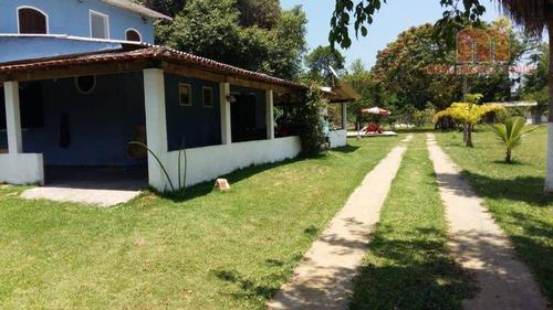 Chácara Com 4 Dormitórios À Venda, 1600 M² Por R$ 350.000,00 - Ana Dias - Itariri/sp - Ch0143