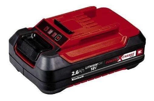 Bateria 2,6ah P-x-c Plus, Color Rojo C/ Negro
