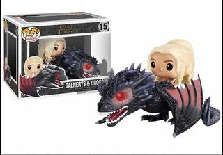 Daenerys Con Drogon Funko Pop