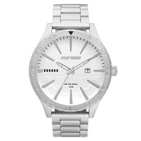 Relógio Mormaii Mo2115aw3k Cinza