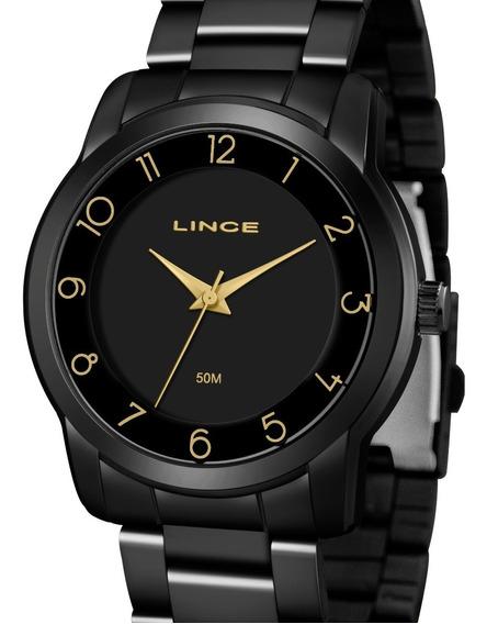 Relógio Lince Feminino Preto - Lrn4590l P2px