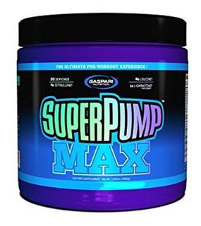 Pré Workout Superpump Max 480g - Gaspari - Importado