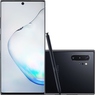 Smartphone Samsung Galaxy Note 10+ Plus 256gb Novo Anatel Nf