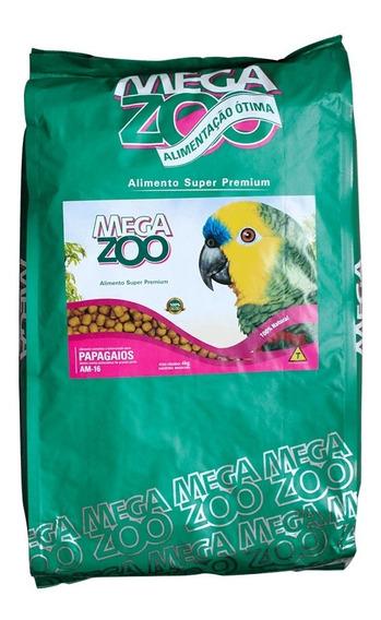 Ração Megazoo Am16 - Papagaios 12 Kg