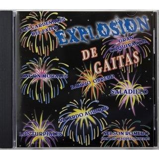 Cd Original Explosión De Gaitas Nuevo