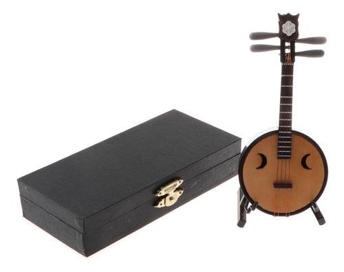 Imagen 1 de 10 de 1/6 Juguete Modelo De Instrumentos Musicales De Madera En