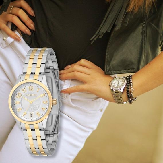 Relógio Feminino Tecnhos Prata 2115knk/5k