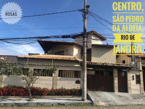 Imagem 1 de 15 de Casa Duplex Para Venda Em São Pedro Da Aldeia, Centro, 5 Dormitórios, 2 Suítes, 3 Banheiros, 5 Vagas - 576_1-1974671