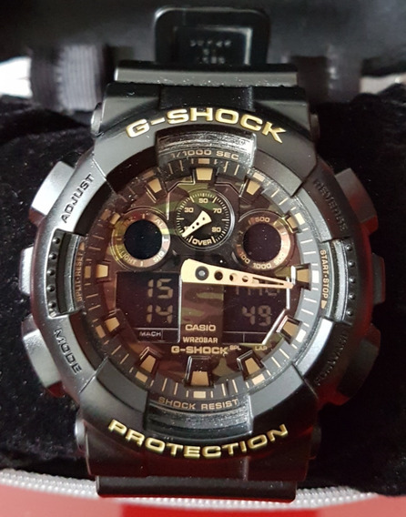 Casio G-shock Ga-100cf-1a9dr - Original