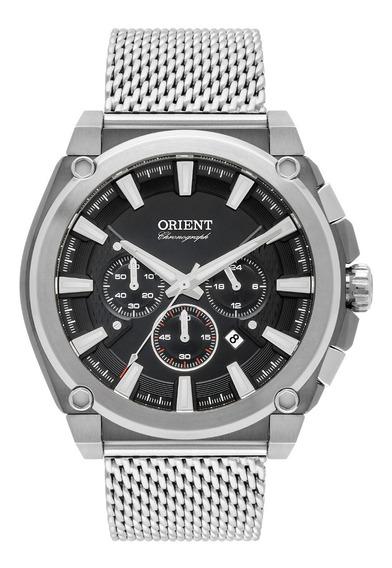 Relógio Orient Masculino Prata Cronografo Mtssc038 G1sx