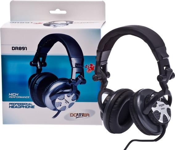 Fone Headphone Profissional Dj Donner Dr891