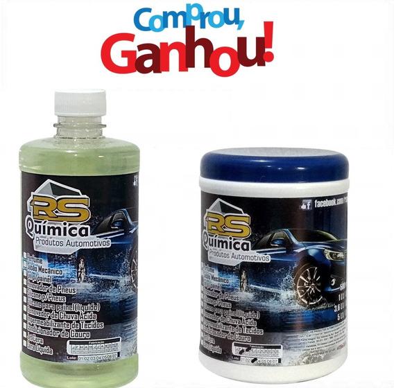 Removedor De Chuva Ácida 1l+ Gel Silicone 1kg