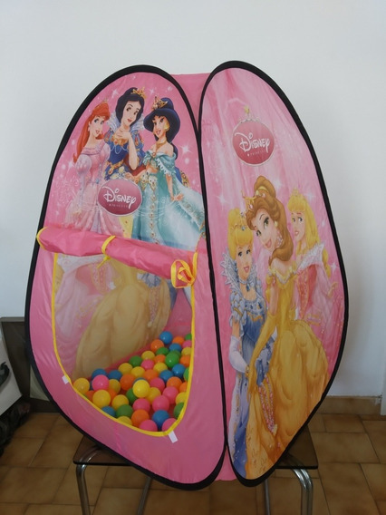 Carpa Con Pelotas Frozen Princesa Juguete 35vds