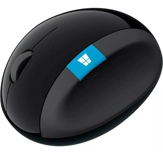 Mouse Sem Fio Microsoft Sculpt Ergonomic Preto