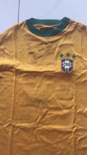 Suéter Autografiado Por Pele 1973