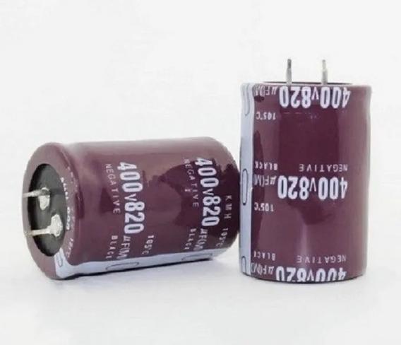 Capacitor Eletrlítico 820uf 400v Placa Ar Condicionado Split