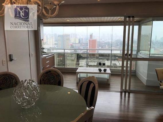 Apartamento À Venda, 128 M² Por R$ 899.000,00 - Centro - Santo André/sp - Ap10364