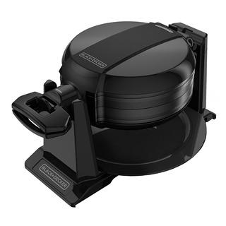 Waflera Belga Black & Decker Wmd200b Doble Flip Negro