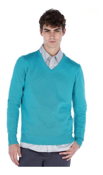 Suéter Básico Liso Para Hombre Generra 828800