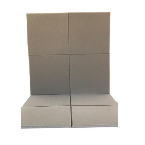 Espuma Acustica Lisa Kit 16 Placas 50 X 50 X 2 Cm = 4 M²