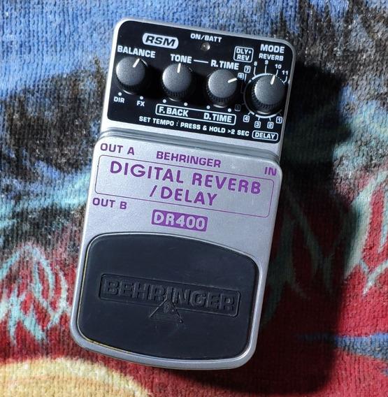 Behringer Dr400 Delay / Reverb - Willaudio