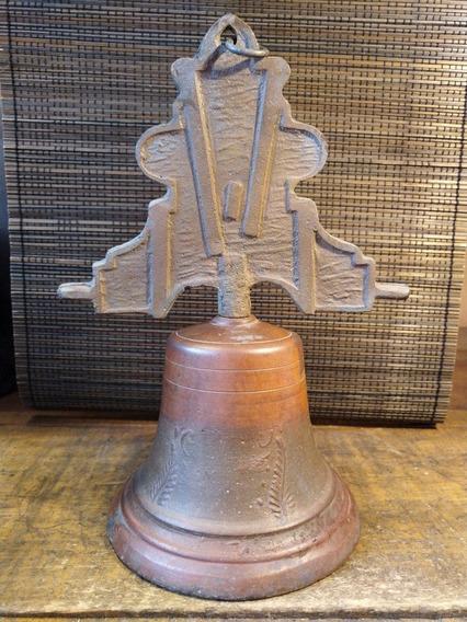 Campana De Hidalgo Giratoria Bronce