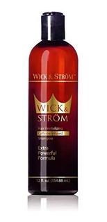 Premium Anti Hair Loss Shampoo -wick & Strã¶m- No Minoxidil