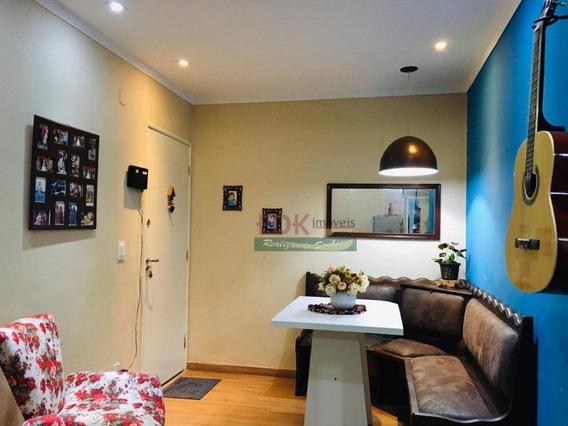 Apartamento Com 2 Dormitórios Para Alugar, 60 M² Por R$ 850/mês - Parque Senhor Do Bonfim - Taubaté/sp - Ap2950