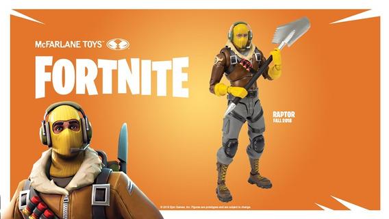 Fortnite Figuras De Ação: Raptor