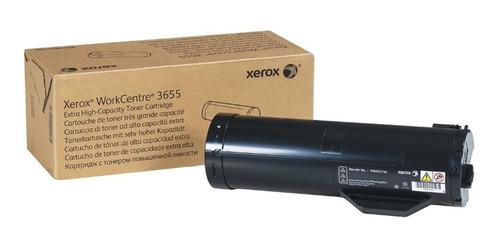Toner Xerox 3655 Extra Alta Capacidad Nuevo Y Original