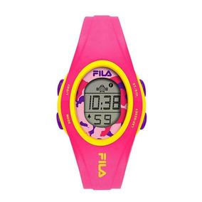 Relógio Feminino Fila Digital Rosa