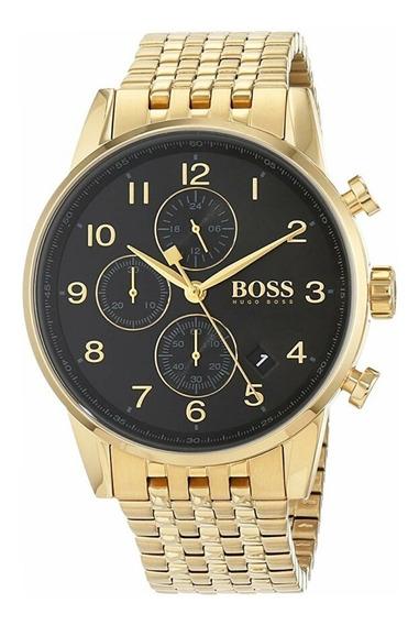 Relógio Masculino Hugo Boss Navigator 1513531 Completo