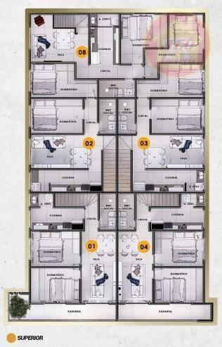 Casa Com 2 Dormitórios À Venda, 52 M² Por R$ 235.000 - Mirim - Praia Grande/sp - Ca1355