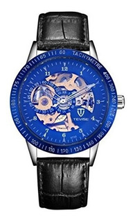 Hombres Relojes Tevise Luxury Carco Store Automatico Mecanic