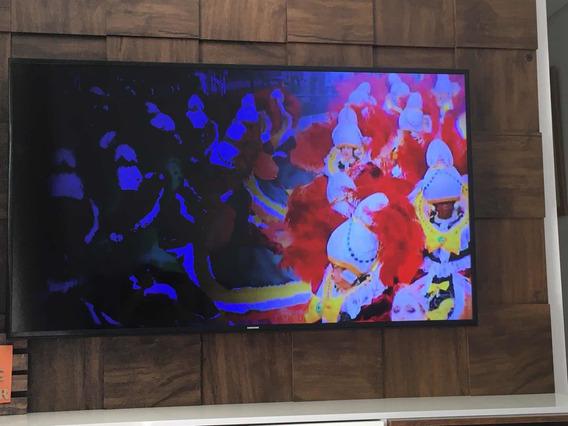 Tv Samsung 55 Polegadas Un55ju6000gxzd, Tela Em Curto.