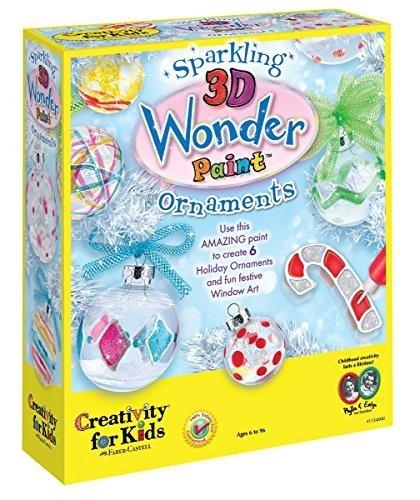Creatividad Para Niños: Kit De Pintura Wonder 3d Brillante -