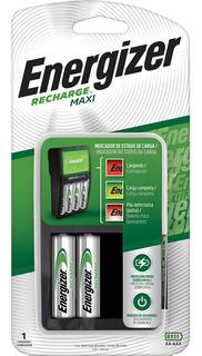 Cargador Energizer Maxi Aa Aaa + 2 Pilas Recargables Aa- Importadora Fotografica - Distribuidor Oficial Energizer
