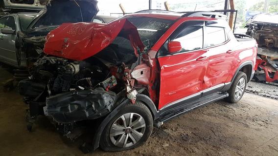 Sucata Fiat Toro 1.8 Flex Automática 2017 Venda De Peças