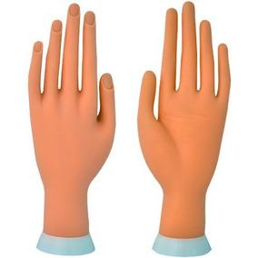 Mão Para Manicure Treinamento Unha Gel Acrigel Porcelana
