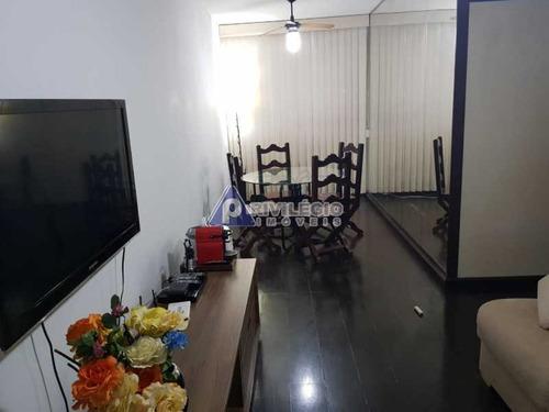 Apartamento À Venda, 3 Quartos, 1 Suíte, 2 Vagas, Laranjeiras - Rio De Janeiro/rj - 21231