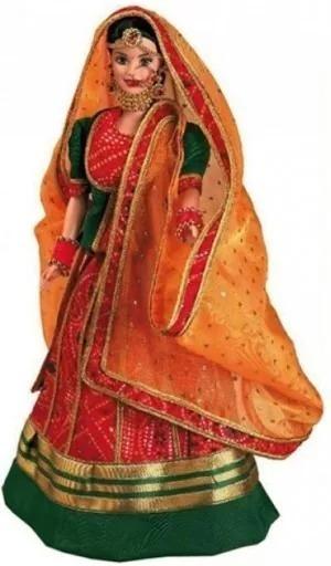 Boneca Barbie Expressions Of Índia Roopvati Rajasthani Nrfb