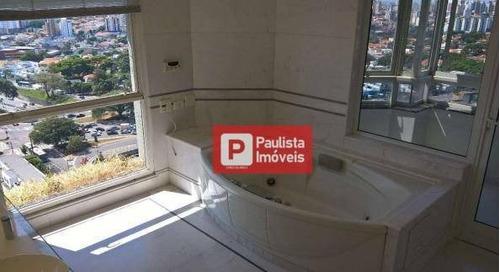 Cobertura À Venda, 628 M² Por R$ 5.500.000,00 - Moema - São Paulo/sp - Co0879