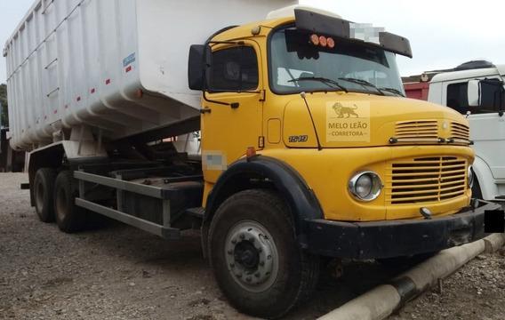 Mb L 1519 - 75/75 - Truck, Caçamba P/ Sucata, Mecânica Boa