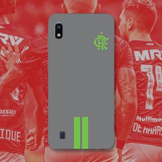 Capinha Para Galaxy A10 Camisa Cinza Flamengo
