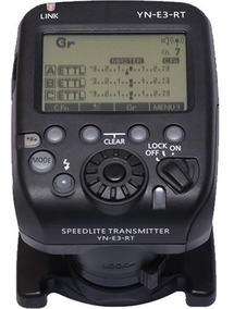 Rádio Flash Yongnuo Yn-e3-rt Canon St E3 Rt 600exrt P Entreg