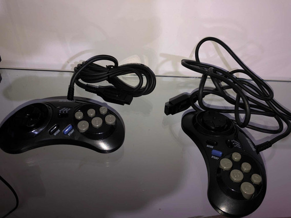 Controle Original Sega Mega Drive Turbo Mk-1470
