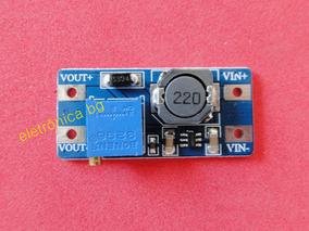 Modulo Regulador Dc Dc Step-up Mt3608 Kit Com 5 Peças