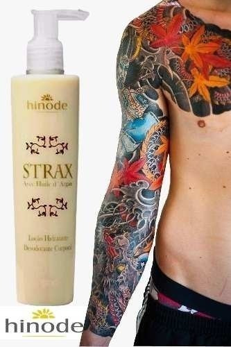 Strax - Para Tatuagens - Tatuagem Renovada Com Argan
