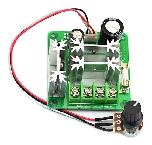 Controlador De Velocidad Pwm 6v-90v 15a Dc